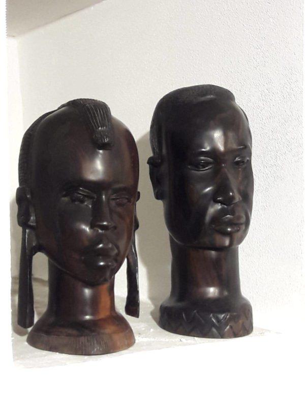 Sculture in ebano – periodo coloniale